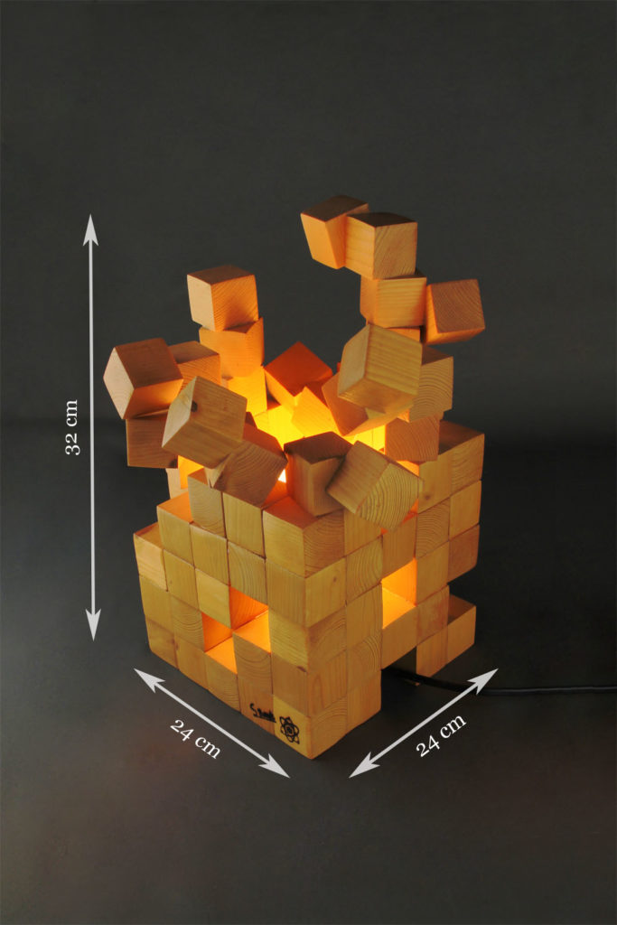 lampe géométrique design