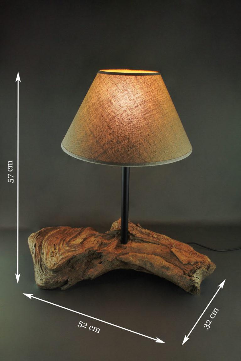lampe de chevet style rétro