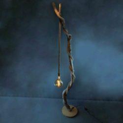 Lampe Grande Corde Grosse Ampoule